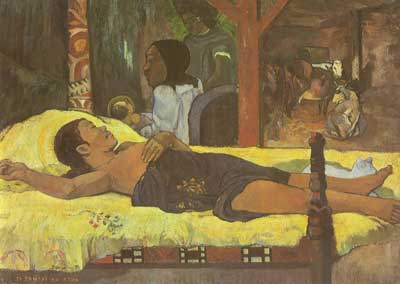Paul Gauguin, Nativity Fine Art Reproduction Oil Painting