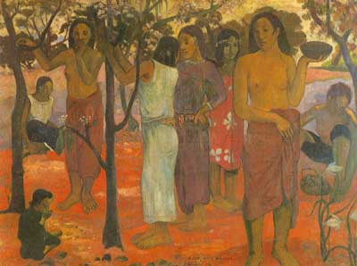 Paul Gauguin, Nave Nave Mahana Fine Art Reproduction Oil Painting