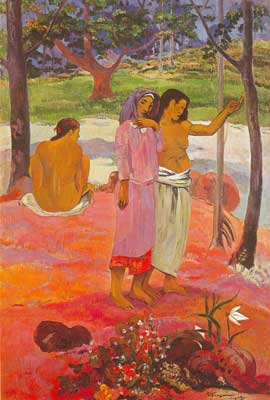 Paul Gauguin, The Call Fine Art Reproduction Oil Painting