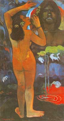 Paul Gauguin, The Moon and Earth Fine Art Reproduction Oil Painting