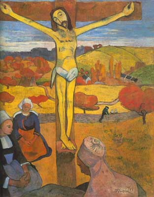 Paul Gauguin, The Yellow Christ Fine Art Reproduction Oil Painting