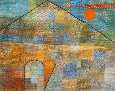 Paul Klee, Ad Parnassum Fine Art Reproduction Oil Painting
