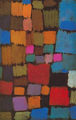 Paul Klee, Coming to Bloom Fine Art Reproduction Oil Painting
