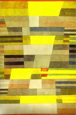 Paul Klee, Monument in Fertile Country Fine Art Reproduction Oil Painting