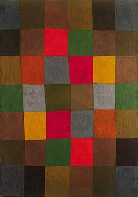 Paul Klee, New Harmony Fine Art Reproduction Oil Painting