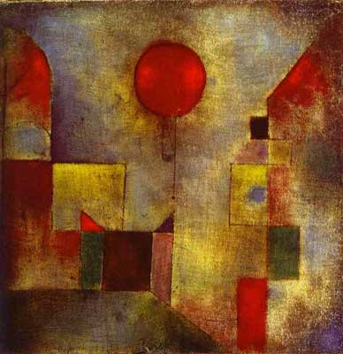 Red Balloon - Paul Paul, Fine Art Reproduction Oil Painting