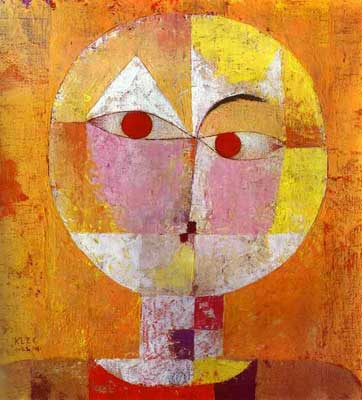 Paul Klee, Senecio Fine Art Reproduction Oil Painting
