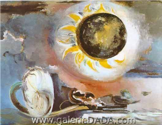 Paul Nash, Eclipse of the Sunflower Fine Art Reproduction Oil Painting