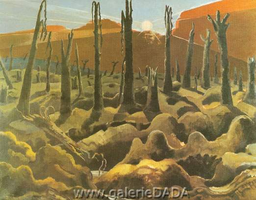 Paul Nash, We Are Making a New World Fine Art Reproduction Oil Painting