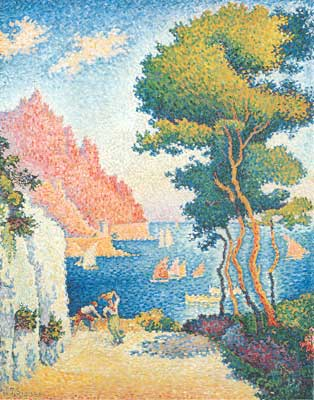 Paul Signac, Capo di Noli Fine Art Reproduction Oil Painting