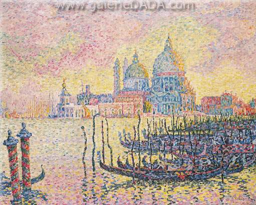 Paul Signac, Grand Canal Venice Fine Art Reproduction Oil Painting