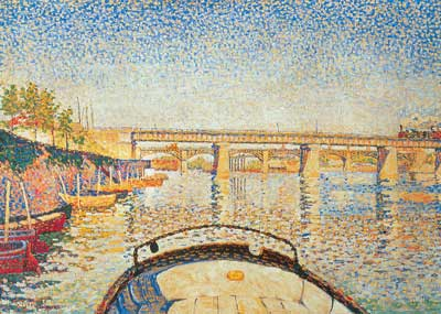 Paul Signac, Stern of the Boat Fine Art Reproduction Oil Painting