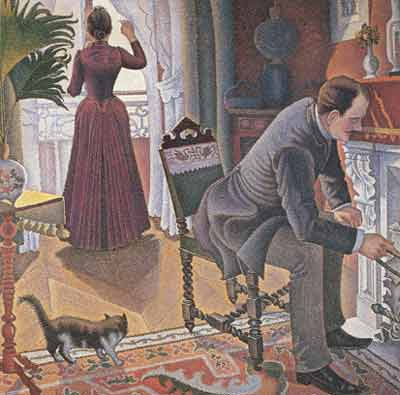 Paul Signac, Sunday Fine Art Reproduction Oil Painting