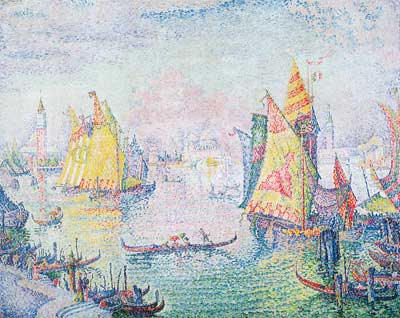 Paul Signac, The Basin of San Marco Fine Art Reproduction Oil Painting