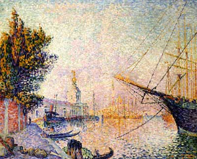 Paul Signac, The Dogana Fine Art Reproduction Oil Painting