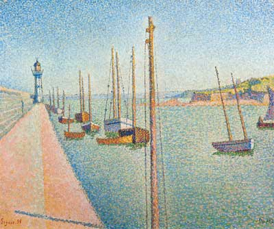 Paul Signac, The Masts, Pontrieux Fine Art Reproduction Oil Painting