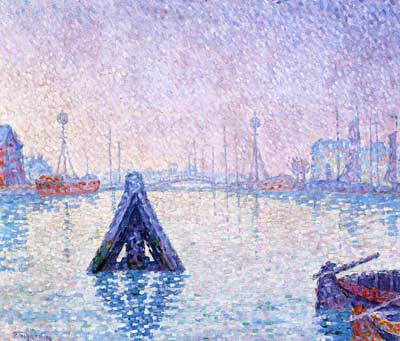 Paul Signac, The Port at Vlissingen, Boats and Lighthouses Fine Art Reproduction Oil Painting