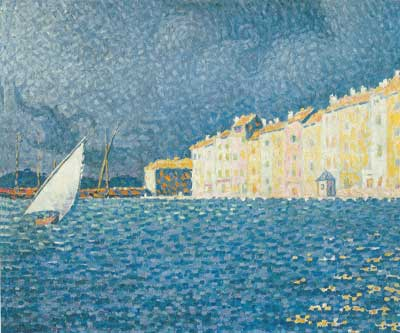 Paul Signac, The Storm, Saint Tropez Fine Art Reproduction Oil Painting