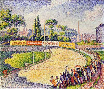 Paul Signac, The Velodrome Fine Art Reproduction Oil Painting