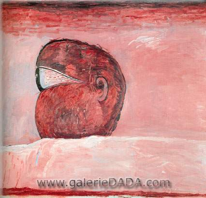 Philip Guston, Head Fine Art Reproduction Oil Painting