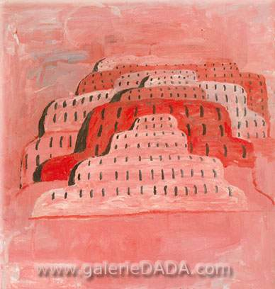 Philip Guston, The City Fine Art Reproduction Oil Painting