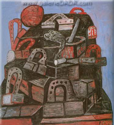 Philip Guston, Tomb Fine Art Reproduction Oil Painting