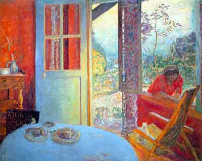 Pierre Bonnard, Dining Room in the Country Fine Art Reproduction Oil Painting
