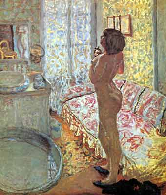 Pierre Bonnard, Nude against the Light Fine Art Reproduction Oil Painting