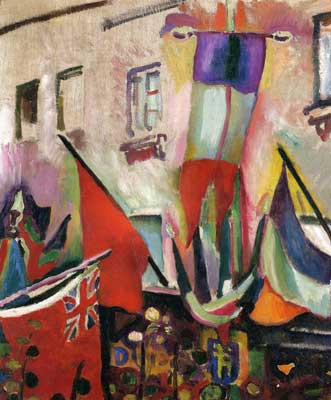 Raoul Dufy, Flags Fine Art Reproduction Oil Painting