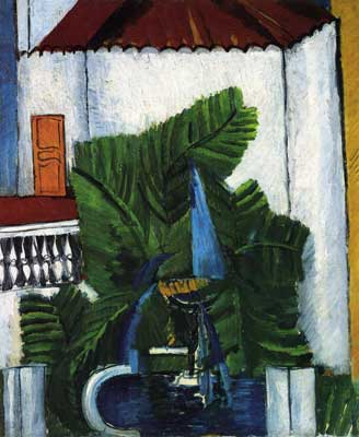 Raoul Dufy, Fountain in Avignon Fine Art Reproduction Oil Painting