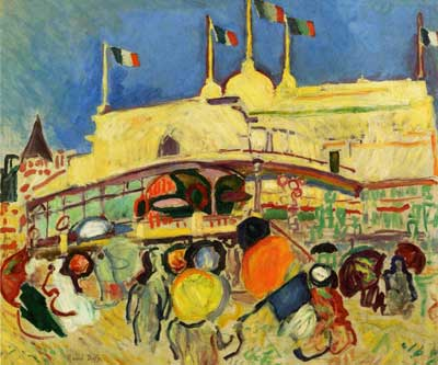 Raoul Dufy, The Casino Fine Art Reproduction Oil Painting