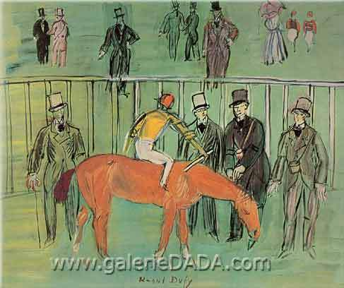 Raoul Dufy, The Thoroughbred Fine Art Reproduction Oil Painting