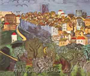 Raoul Dufy, Vence Fine Art Reproduction Oil Painting