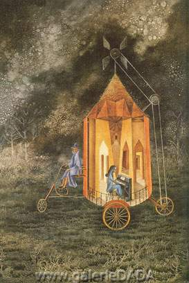 Remedios Varo, Caravan Fine Art Reproduction Oil Painting