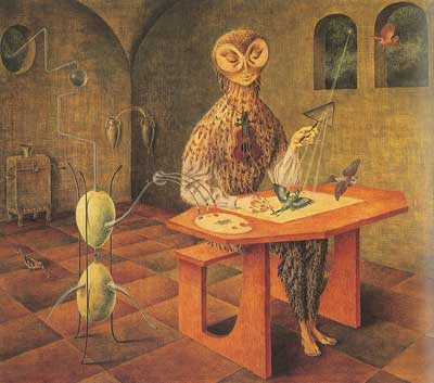 Remedios Varo, Creation of the Birds Fine Art Reproduction Oil Painting