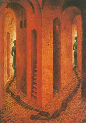 Remedios Varo, Farewell Fine Art Reproduction Oil Painting