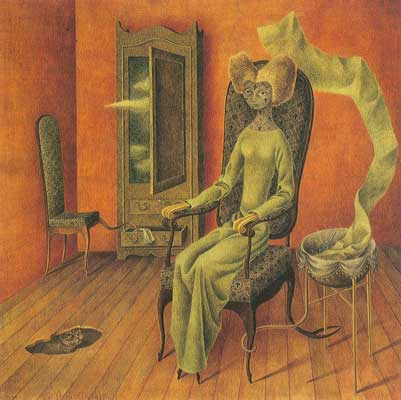 Remedios Varo, Mimesis Fine Art Reproduction Oil Painting