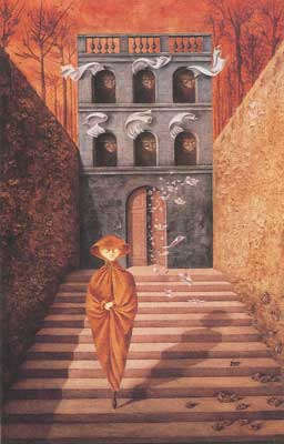 Remedios Varo, Rupture Fine Art Reproduction Oil Painting
