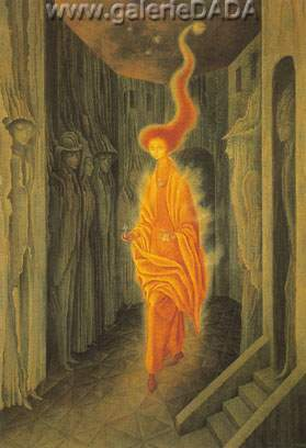 Remedios Varo, The Call Fine Art Reproduction Oil Painting