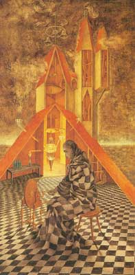 Remedios Varo, The Useless Science Fine Art Reproduction Oil Painting