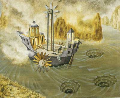 Remedios Varo, The World Beyond Fine Art Reproduction Oil Painting
