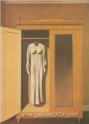Rene Magritte, Homage to Mack Sennett Fine Art Reproduction Oil Painting