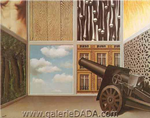 Rene Magritte, On the Threshold of Liberty Fine Art Reproduction Oil Painting
