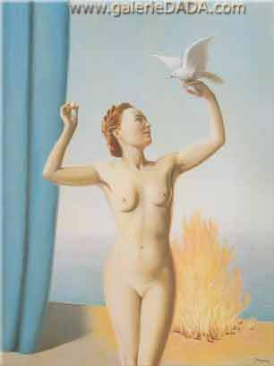 Rene Magritte, The Clearing Fine Art Reproduction Oil Painting