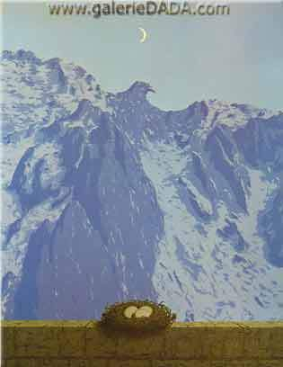 Rene Magritte, The Domain of Arnheim Fine Art Reproduction Oil Painting