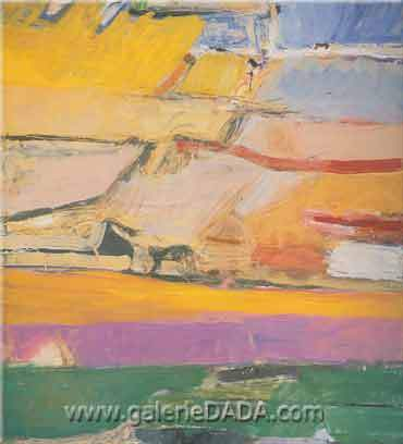 Richard Diebenkorn, Berkeley No.52 Fine Art Reproduction Oil Painting