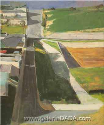 Richard Diebenkorn, Cityscape I Fine Art Reproduction Oil Painting