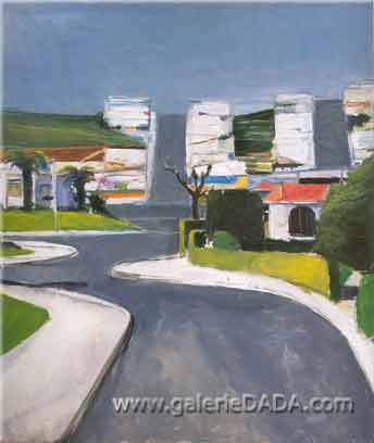 Richard Diebenkorn, Ingleside Fine Art Reproduction Oil Painting