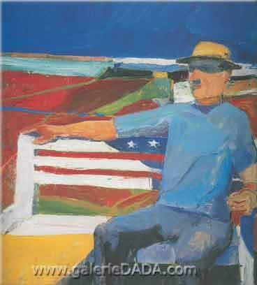 Richard Diebenkorn, July Fine Art Reproduction Oil Painting