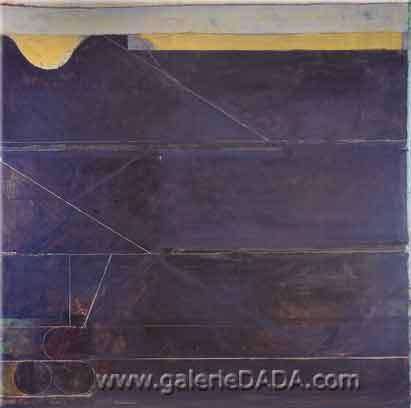 Richard Diebenkorn, Ocean Park No.133 Fine Art Reproduction Oil Painting